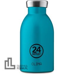 Butelka termiczna Clima Earth 330 ml morska