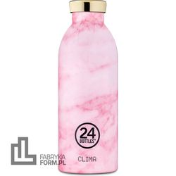 Butelka termiczna Clima Grand Pink Marble 500 ml