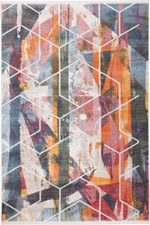 Dywan Laos Abstraction multikolor 80 x 235 cm