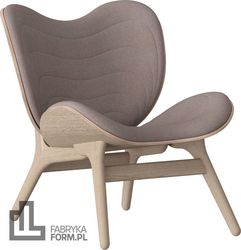 Fotel Conversation Piece dąb Dusty Rose