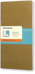 Notes Moleskine Chapters Journal L oliwkowy w linie
