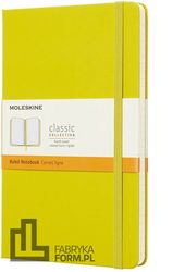 Notes Moleskine L w linie dandelion yellow