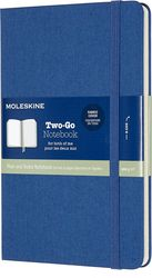 Notes Moleskine Two-Go M niebieski