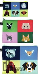 Saszetki Zip Pockets 3 szt. Stephen Cheetham Cats & Dogs