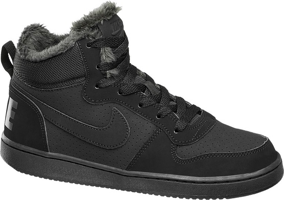 Sportowe i lifestyle - Sneakersy Nike Court Borough Winter NIKE czarne