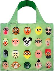 Torba LOQI Artists Stephen Cheetham Faces Bag