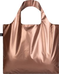 Torba LOQI Metallic Matt Rose Gold