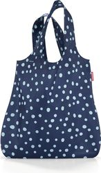 Torba na zakupy mini maxi shopper navy spots