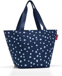 Torba Shopper M Spots Navy